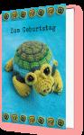 Zum Geburtstag (Schildkröte)