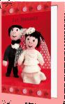 Zur Hochzeit (Doppelkarte)